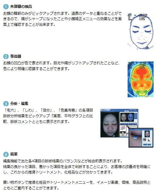エーワンライト 3D肌診断機