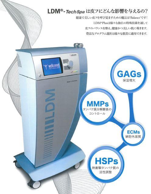 LDMテクノスパ 水玉リフティング GAGS MMPS ECM HSPS