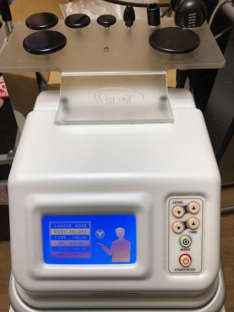 中古美容機器 SSスリム 中古ラジオ波 高周波 痩身機